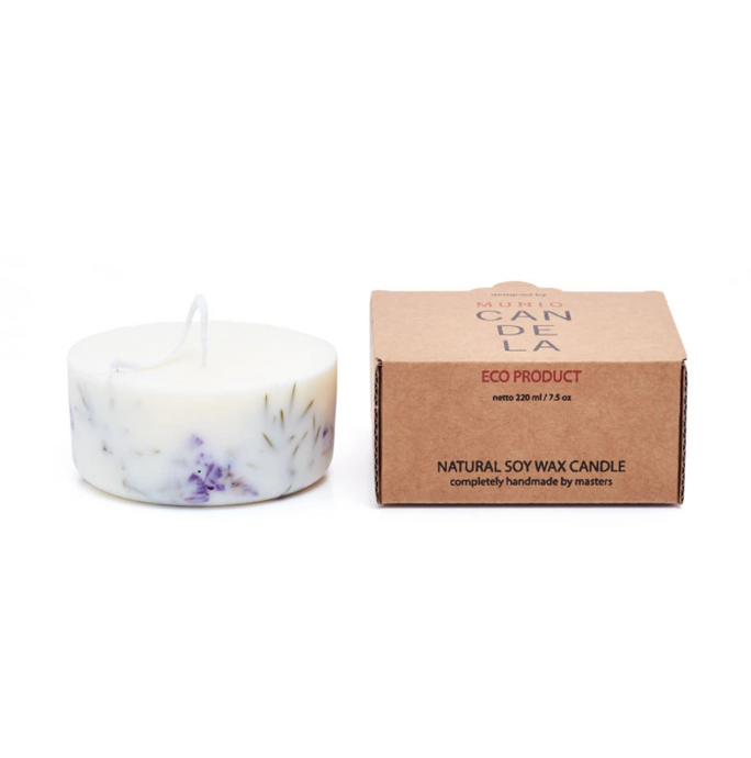Eco scented candle (small)