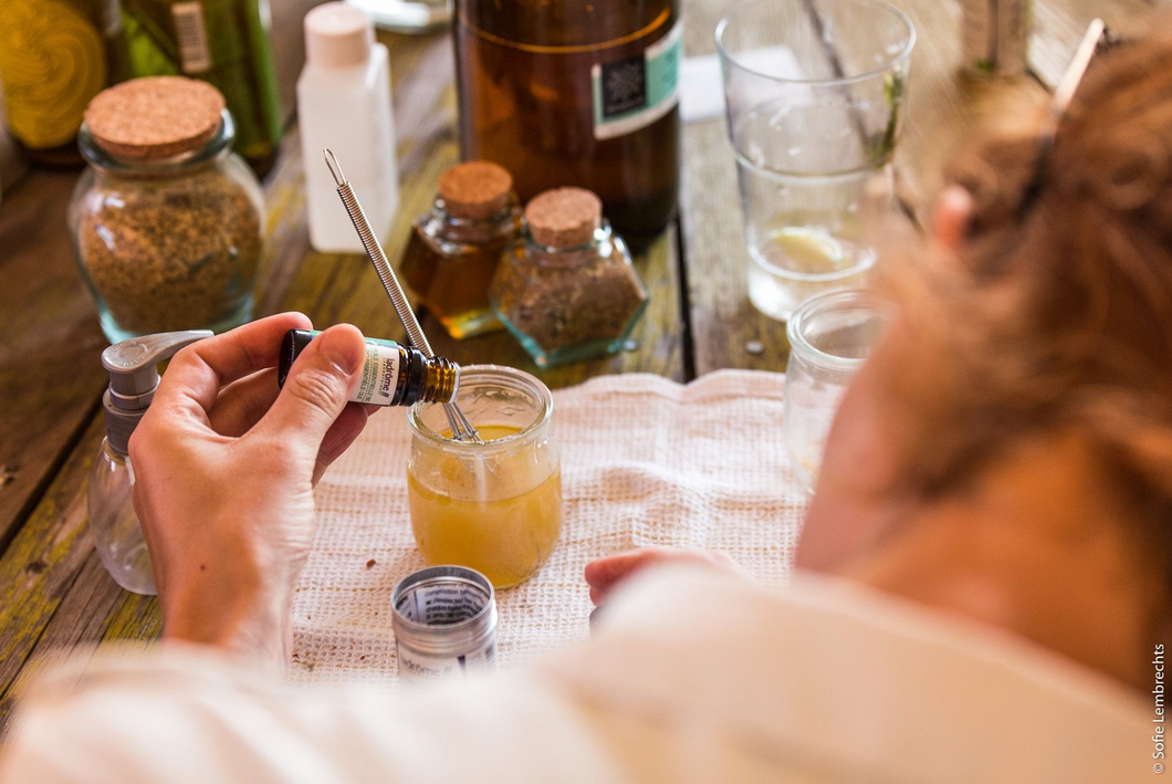Workshop - Make your own 100% natural care products 28/03