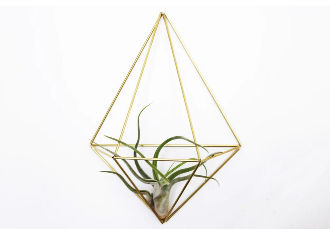 DIY himmeli diamond (wall)