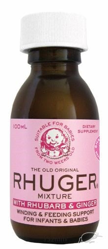 Rhuger Mixture Rhubarb & Ginger 100ml
