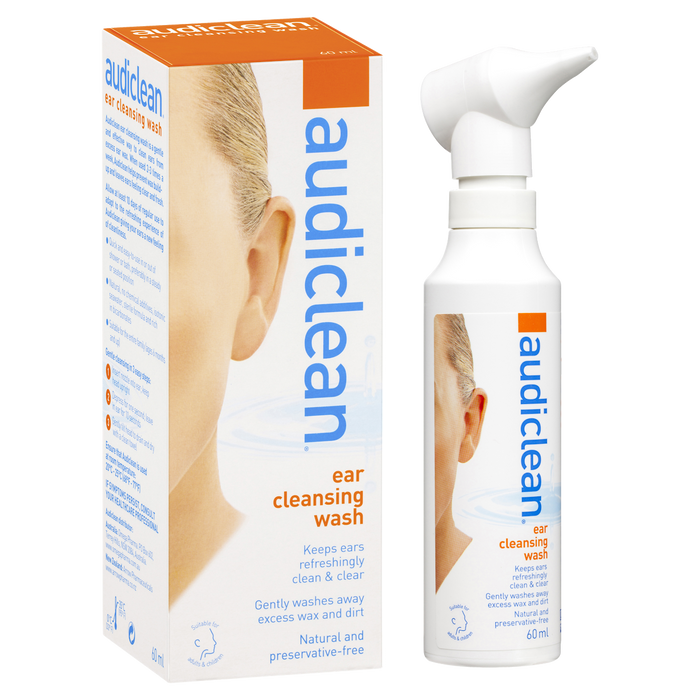 Audiclean Ear Cleansing Wash 60ml