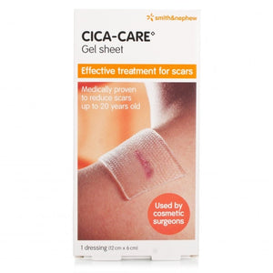 Cica-Care Silicone Gel Sheet 12cm x 6cm