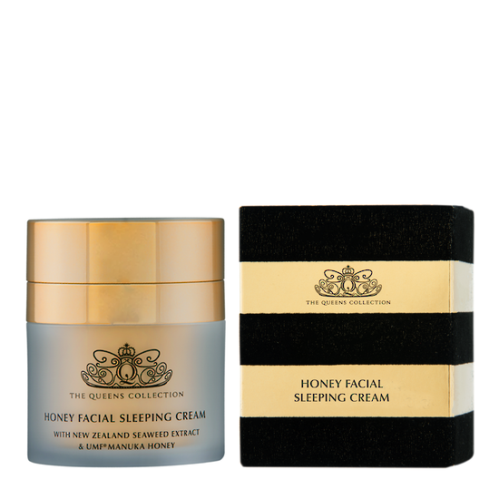 The Honey Collection Honey Facial Sleeping Cream - 50g