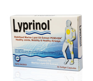 Lyprinol - Stabilised Marine Lipid Oil Extract Softgel Capsules 50