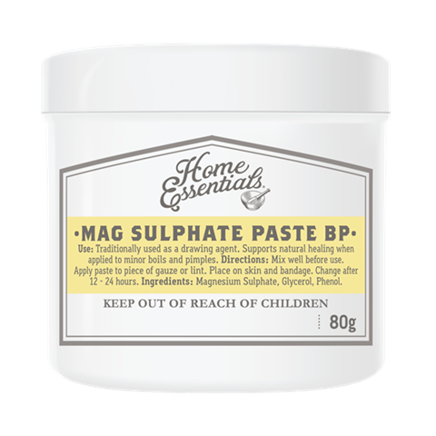 Home Essentials Magnesium Sulphate Paste BP 80g