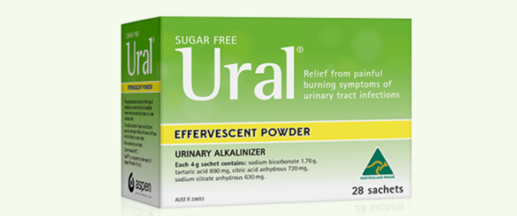 Ural Effervescent Powder – Urinary alkaliniser