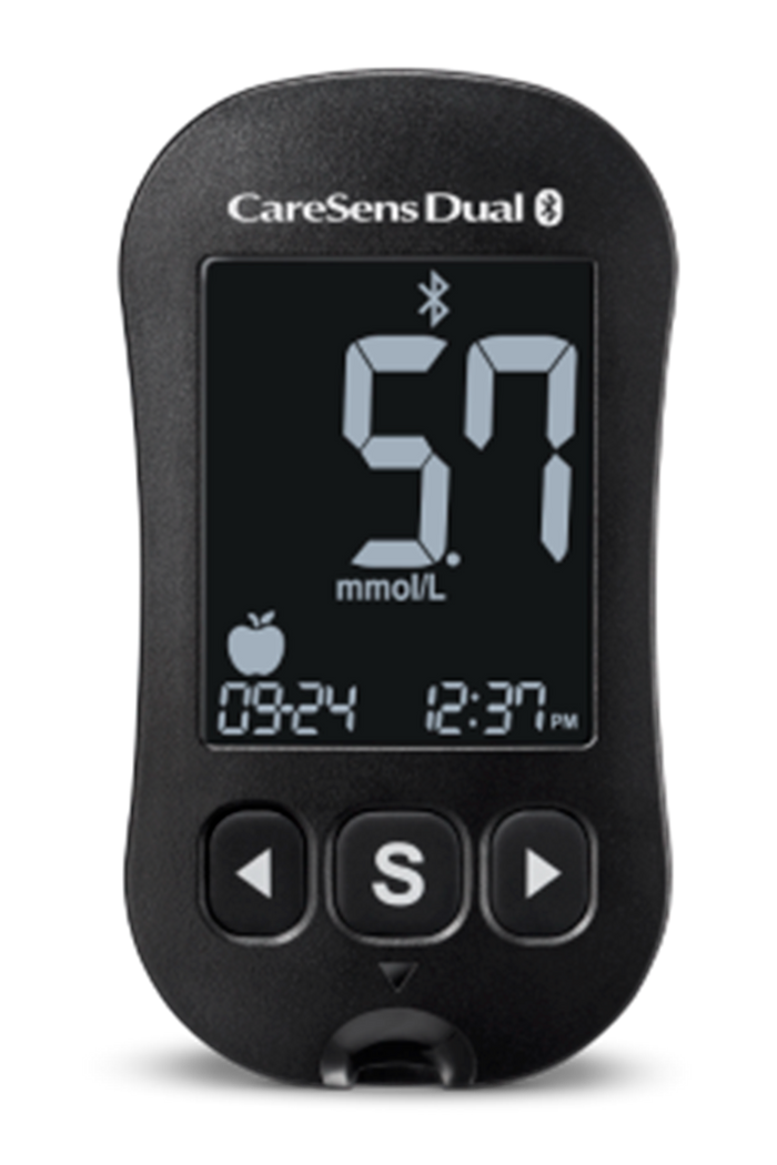CareSens Dual Meter and 10x Ketosens test strips Combo