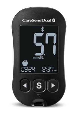 CareSens Dual Blood Glucose & Blood Ketone Monitoring System (Meter plus 10 CareSens Pro test strips)