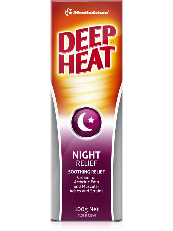 Deep Heat Night Relief Cream 100g