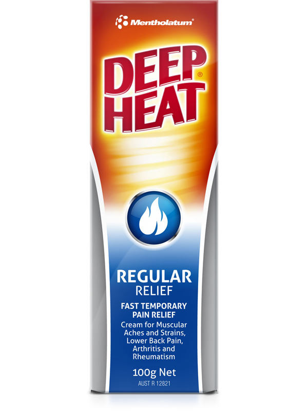 Deep Heat Regular Relief 100g