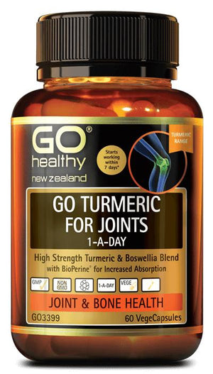 GO Healthy GO Turmeric For Joints 1-A-Day