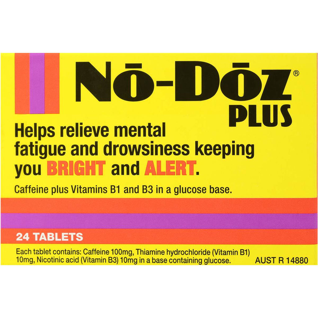 No-Doz Plus Tablets 24