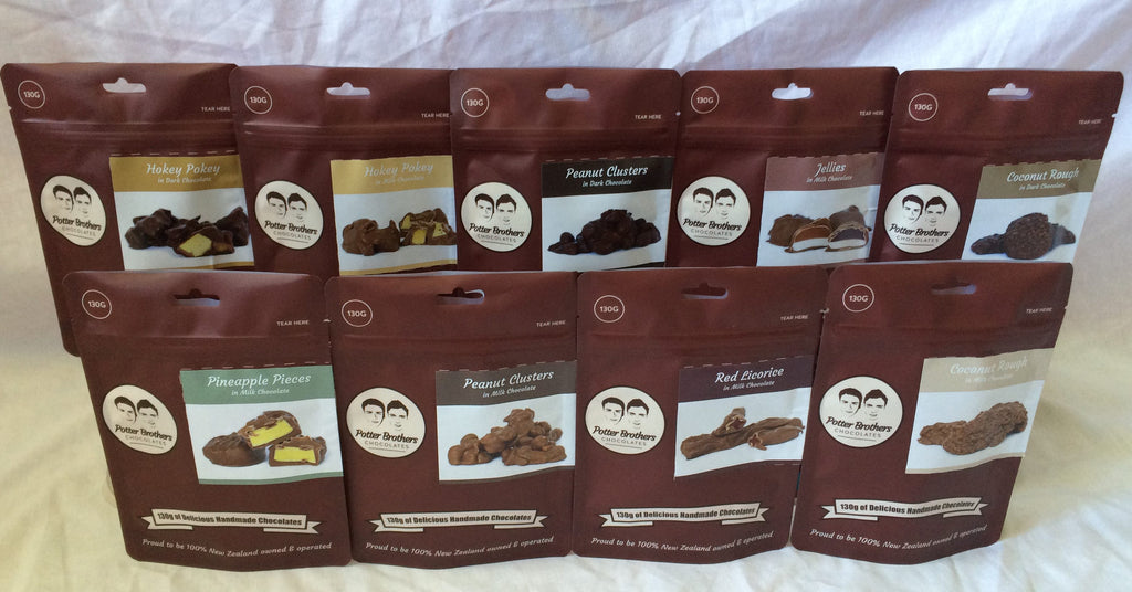 Potter Brothers Chocolate - Peanut Clusters in Milk Chocolate