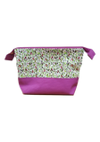 GREEN COTTON LADY GREEN POUCH