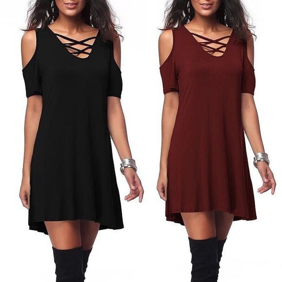 Autumn Dresses Short Sleeve Women Dress Sexy Club Bodycon Party Dresses