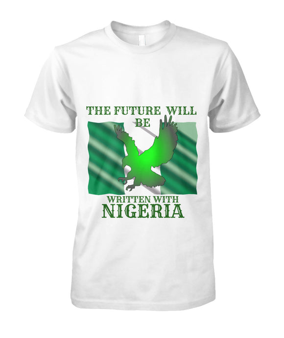 NIGERIA IS COMING T SHIRT AND HODDIE  Unisex Cotton Tee