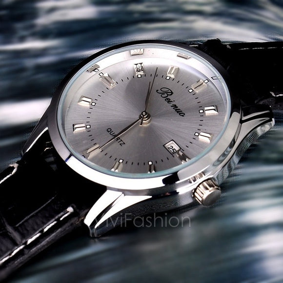 MORE THAN 5000 BOUGHT / New Man / Men's Quartz Wrist Watches With Auto Date Display Function VVF