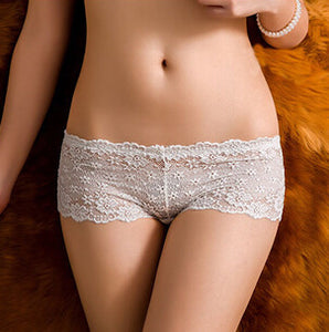 New Arrival Lace Floral Underwear Women's Panties Sexy Shorts Breifs Lingerie Female Panties