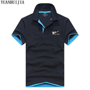 JUST DO IT  Brand Clothing Male Fashion Polo Shirts