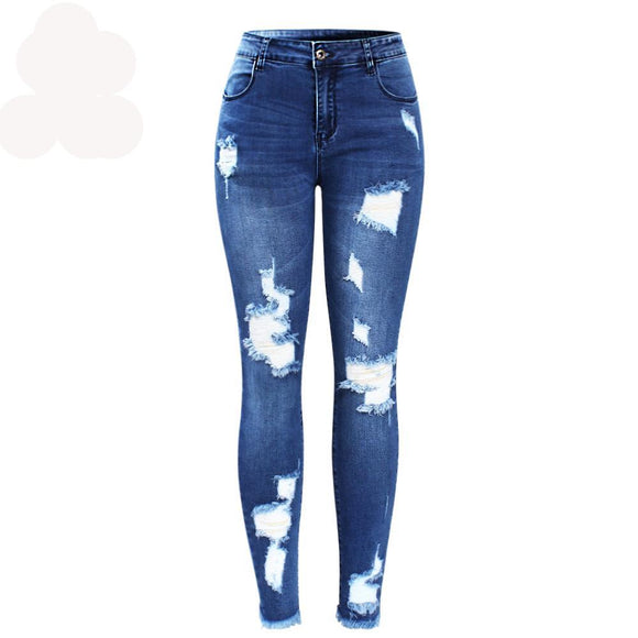 Trousers For Women Pencil Skinny Jeans