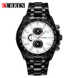 2018 New Curren Luxury Brand Watches Men Quartz Fashion Casual Male Sports Watch