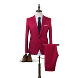New Designs Men Slim Fit Mens Suits (Jackets+Pants)