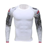Men Compression T-Shirt Bodybuilding Weight
