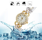 FLOWER GIRL Brand New Quartz Watch Women Watches Ladies Luxury Bracelet Wrist Watch Female Clock Montre Femme