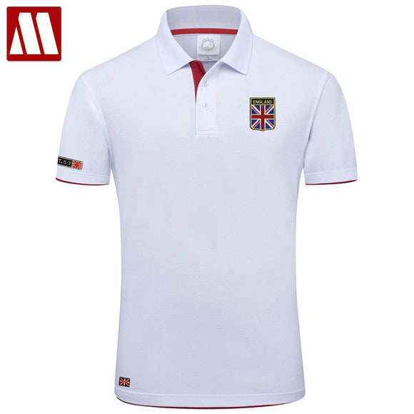 Polo Shirt Man Fashion Union Flag