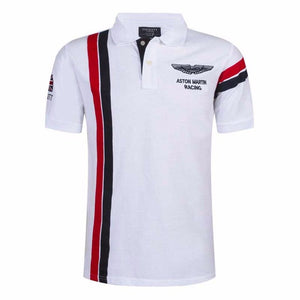Hot sale ASTON MARTIN Polo shirt Solid Color Slim Fit Shirt