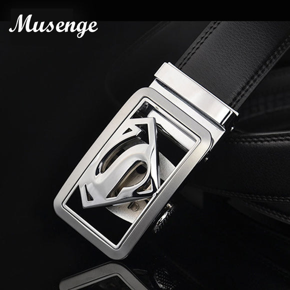 Designer High Quality Men's Belt Luxury Automatic Buckle Belts For Men Cinturones Hombre