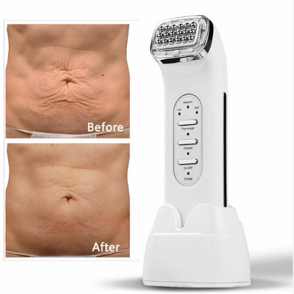 New Radio Frequency Skin Face Care Removal Physical Massage Machine 100-240V facial massager