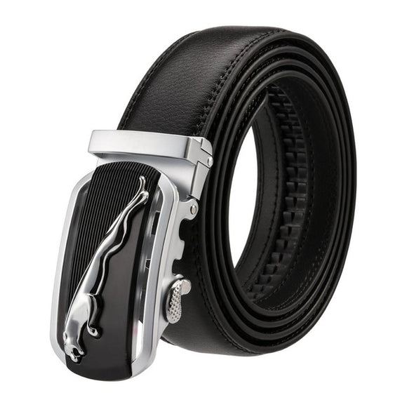 Genuine Leather Belt Men 2018 Luxury Designer Brand Gold Automatic Buckled Alloy High Quality Wedding Belt Waist Straps