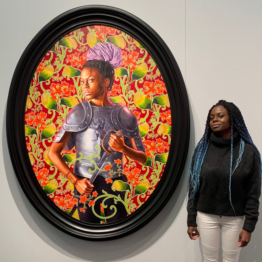 Destinee Ross Portrait by Kehinde Wiley