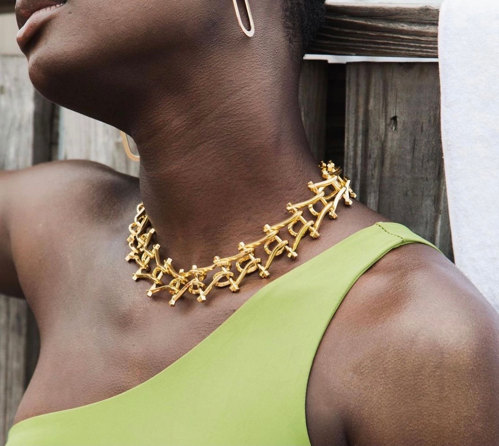 Marcy Link necklace by Third Crown