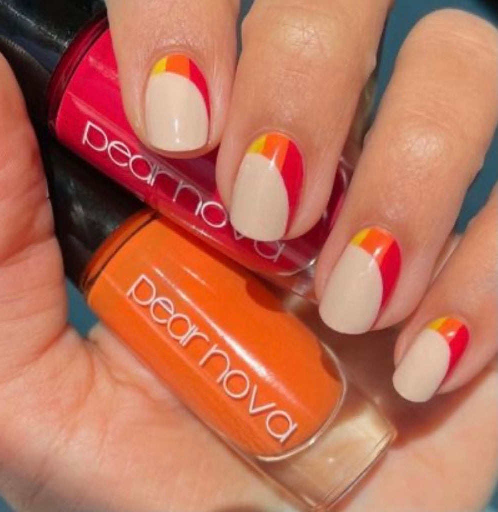 Summer's Over Set of nail polishes by  Pear Nova