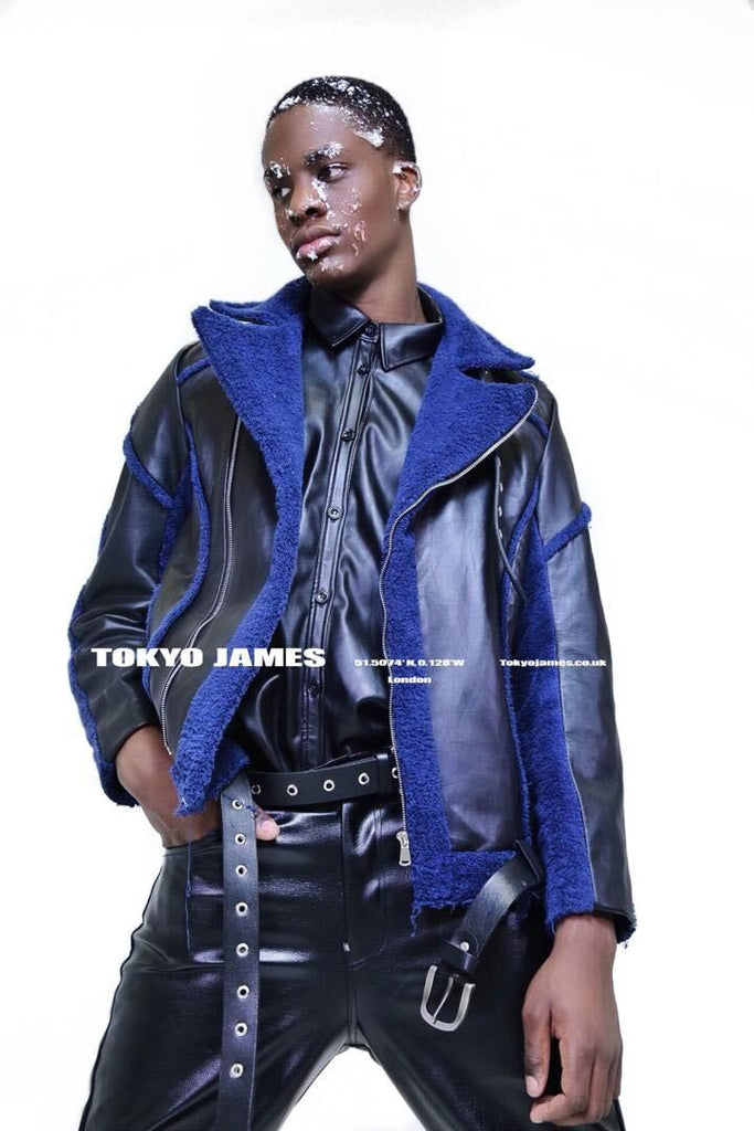 Tokyo James Autumn-Winter 2020 leather pants leather shearling jacket