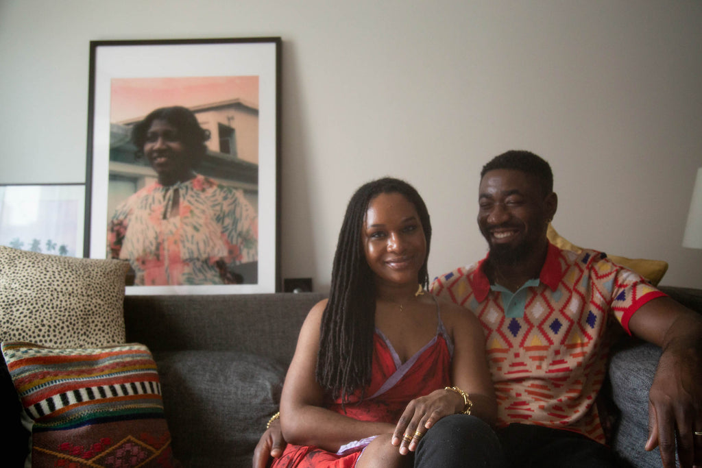 NY based jewelry brand Third Crown founders and co-designers Kristin and Kofi Essel