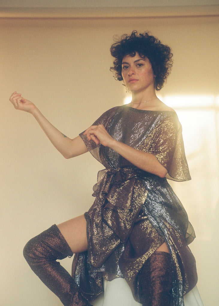 Alia Shawkat shot by Carlota Guerrero for Nylon Magazine