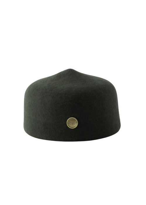 Olive Green Simon and Mary Classic Fez Hat