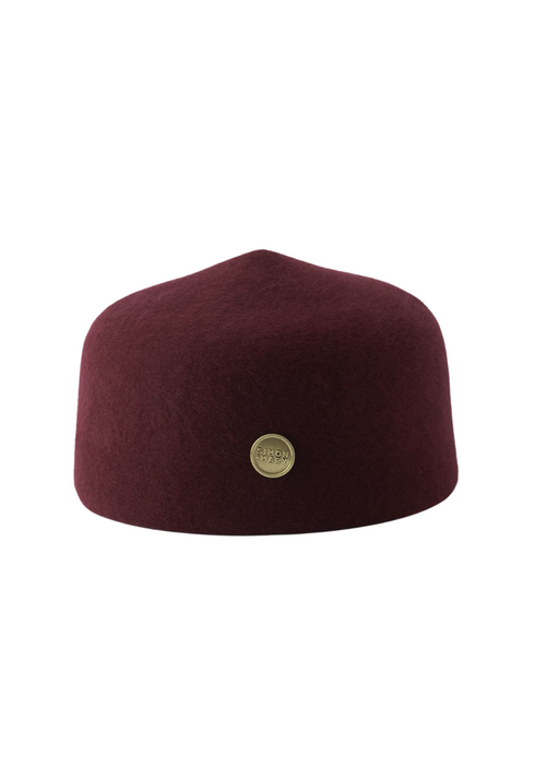 Simon and Mary Burgundy Classic Fez Hat