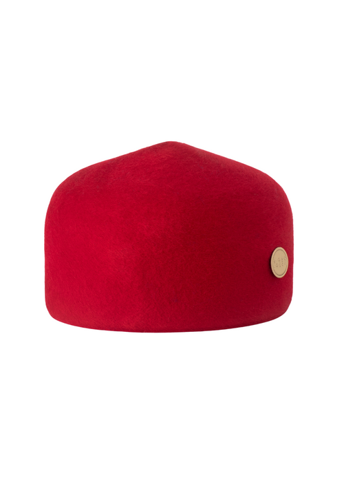 Simon and Mary Red Classic Fez Hat