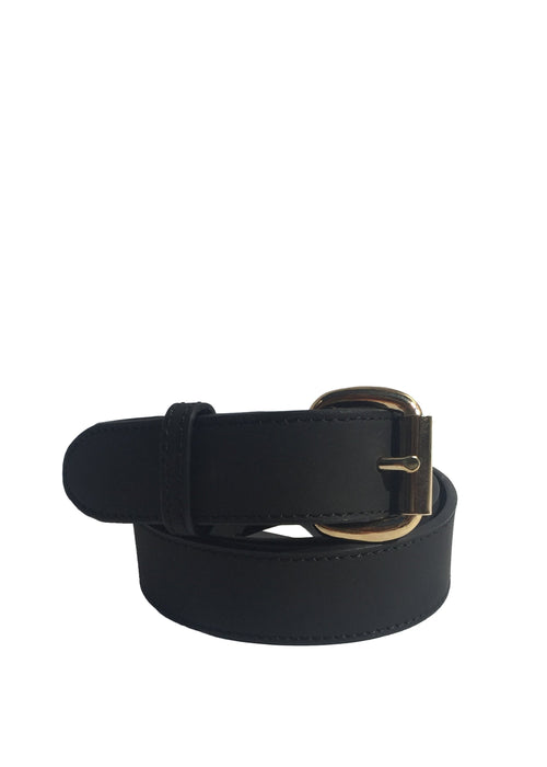 Thalia Strates basic classic leather belt