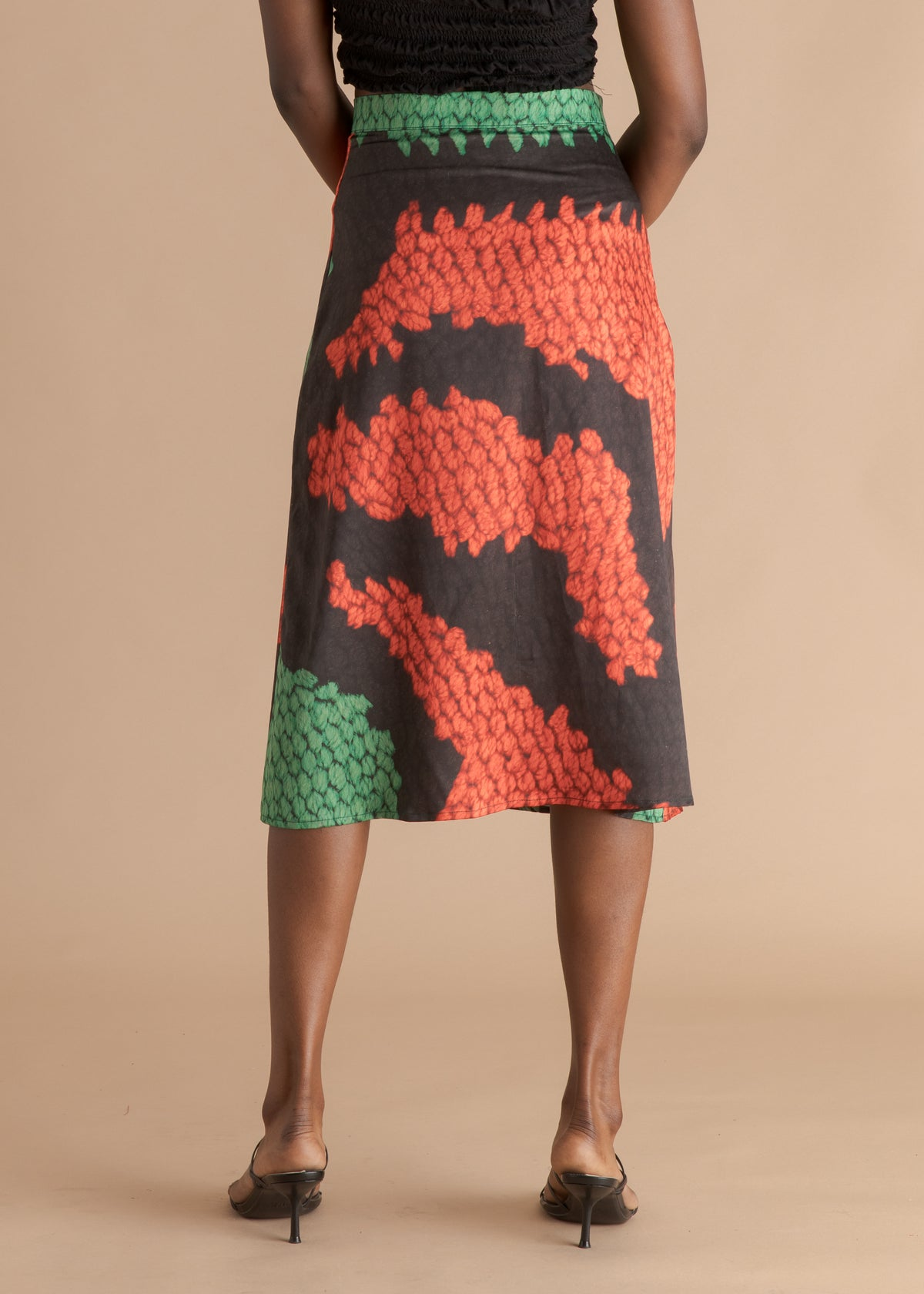 Nicholas Coutts green and orange skirt