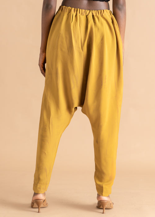 Sisiano Yellow dyed tapered pant