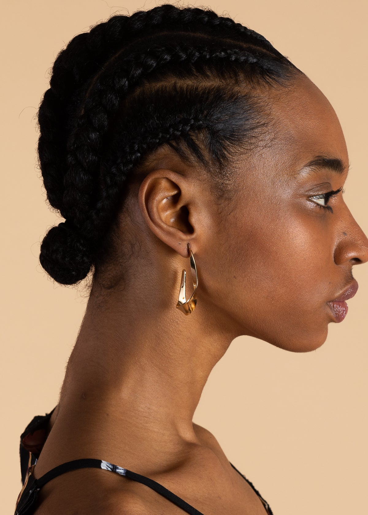 Ribbon Statement Earring
