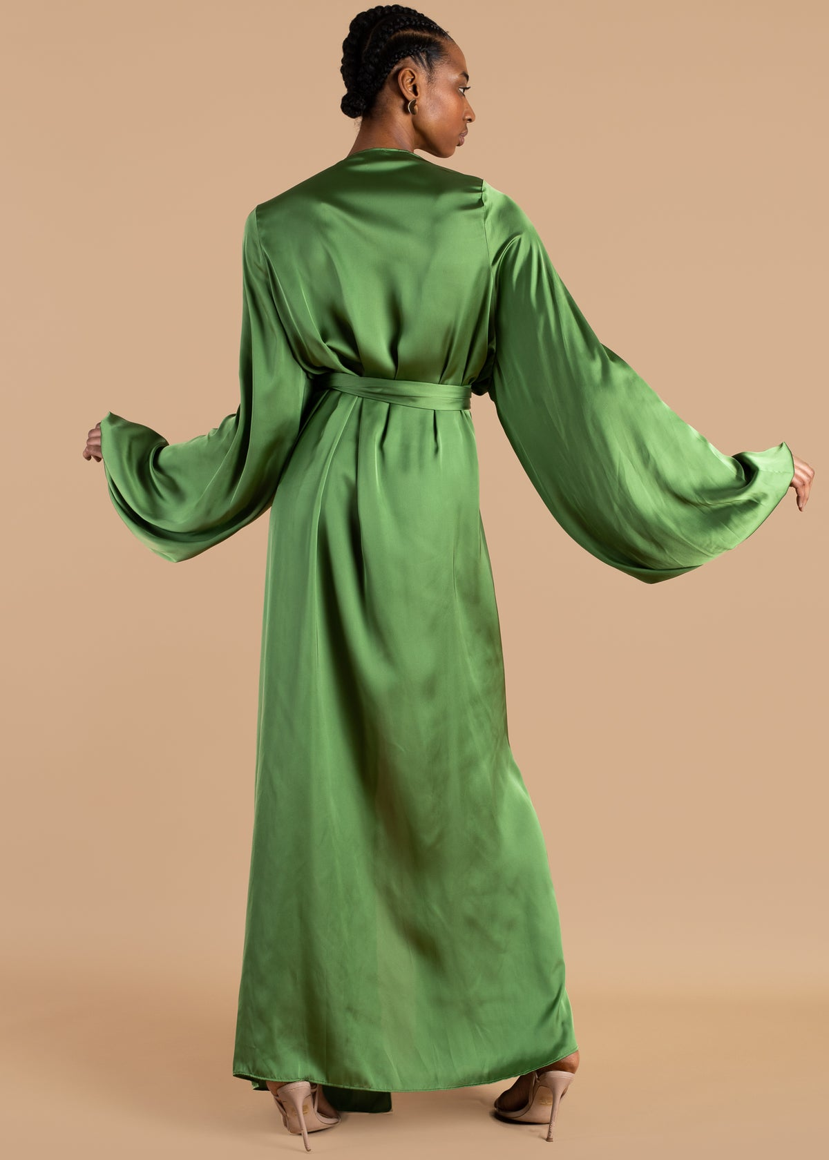 Nali Bubble Sleeve Robe