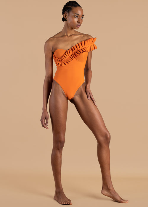 Nisi Orange Swimsuit