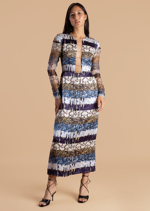 Lisa Folawiyo Life of the Party Midi Dress