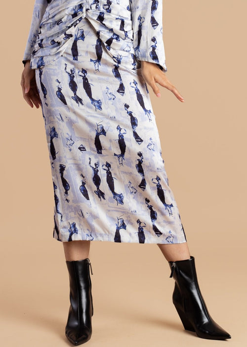 Lisa Folawiyo Dancing Women Skirt